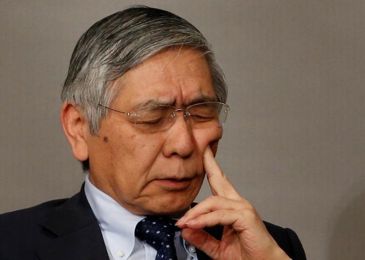 Bank of Japan (BOJ) Governor Haruhiko Kuroda attends a Reuters Newsmaker event in Tokyo, Japan March 24, 2017. REUTERS/Toru Hanai
