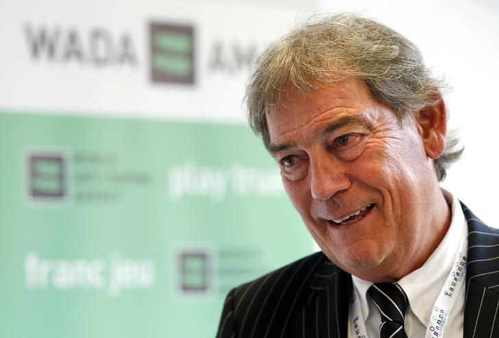 Director General of the World Anti-Doping Agency (WADA) David Howman talks to reporters at the WADA symposium in Lausanne, Switzerland, March 14, 2016.  REUTERS/Denis Balibouse