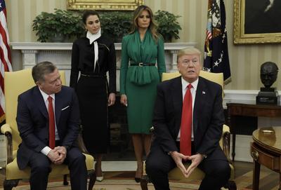 Trump meets world leaders