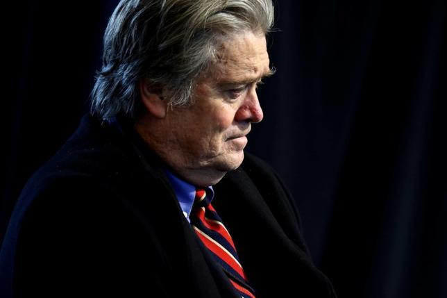 White House Senior Advisor Steve Bannon.   REUTERS/Jonathan Ernst