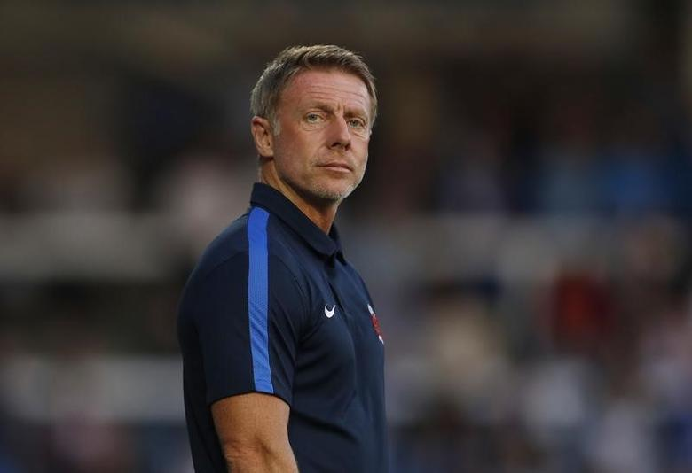 Britain Football Soccer - Hartlepool United v Sunderland - Pre Season Friendly - Victoria Park - 16/17 - 20/7/16Hartlepool manager Craig Hignett Action Images via Reuters / Lee Smith