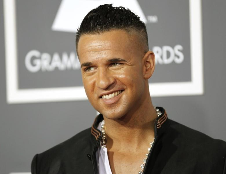 FILE PHOTO: TV personality Michael ''The Situation'' Sorrentino arrives at the 53rd annual Grammy Awards in Los Angeles, California February 13, 2011. REUTERS/Danny Moloshok