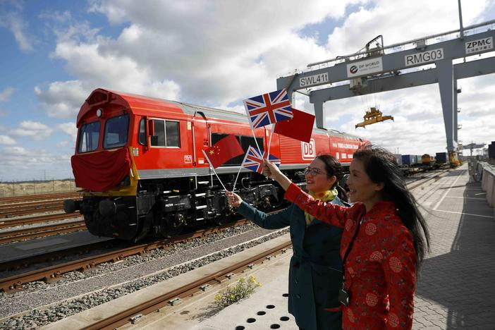 Freight train to leave Britain on long haul for China