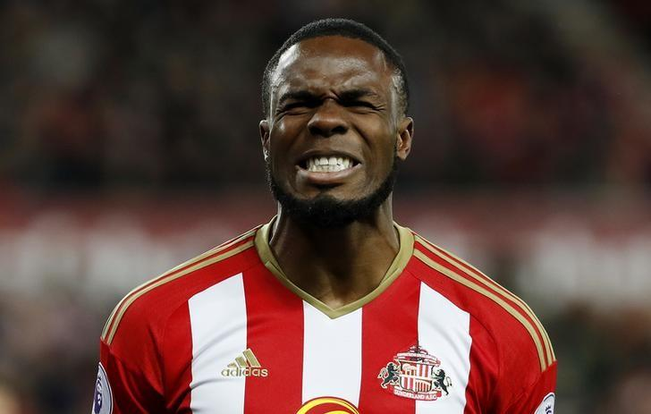 Britain Football Soccer - Sunderland v Leicester City - Premier League - The Stadium of Light - 3/12/16 Sunderland's Victor Anichebe looks dejected Reuters / Russell Cheyne/ Livepic/ Files