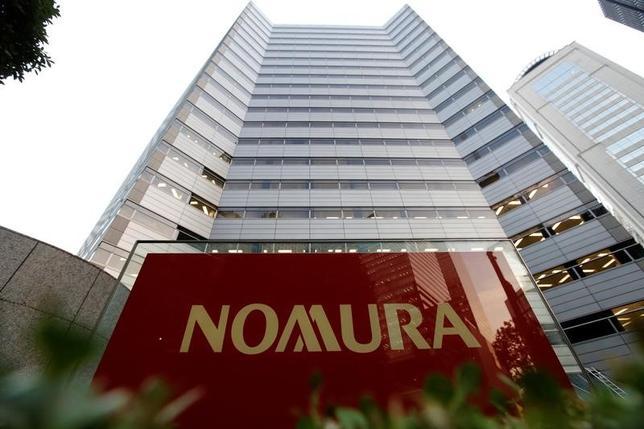 4月13日、野村証券の森田敏夫社長は、顧客層のすそ野を広げるため、従業員持株会制度へのサービス拡充や取り組みを強化する方針を示した。都内の本社、昨年11月撮影(2017年 ロイター/Toru Hanai)