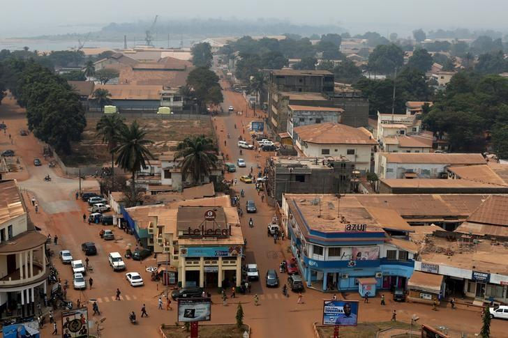 A general view shows part of the capital Bangui, Central African Republic, February 16, 2016. REUTERS/Siegfried Modola/Files
