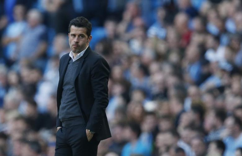 Britain Football Soccer - Manchester City v Hull City - Premier League - Etihad Stadium - 8/4/17 Hull City manager Marco Silva  Reuters / Andrew Yates Livepic