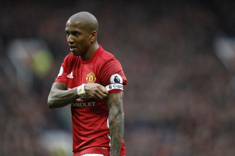 Britain Soccer Football - Manchester United v Chelsea - Premier League - Old Trafford - 16/4/17 Manchester United's Ashley Young  Action Images via Reuters / Carl Recine