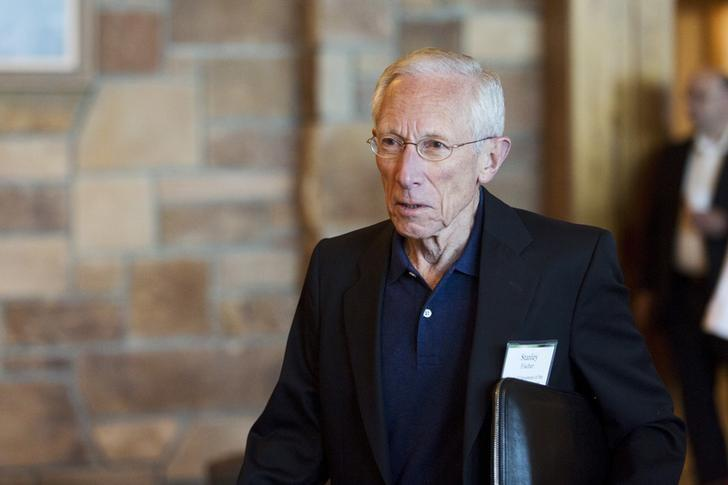Federal Reserve Vice Chairman Stanley Fischer  in Jackson Hole, Wyoming August 28, 2015. REUTERS/Jonathan Crosby