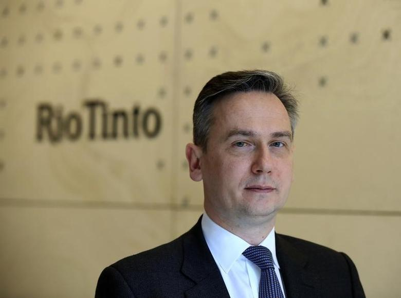 Rio Tinto new Chief Executive Officer, Jean-Sebastien Jacques, poses for a photograph at their head office in London, Britain June 30, 2016.  REUTERS/Paul Hackett