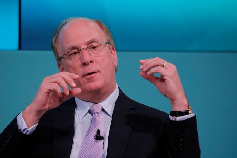 Larry Fink, Chief Executive Officer of BlackRock in New York, U.S., February 8, 2017. REUTERS/Lucas Jackson