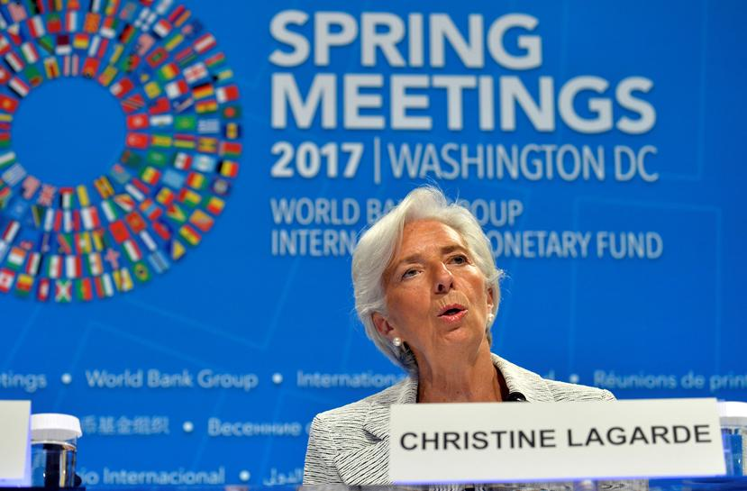 IMF chief willing to work with Trump to fix global trading system