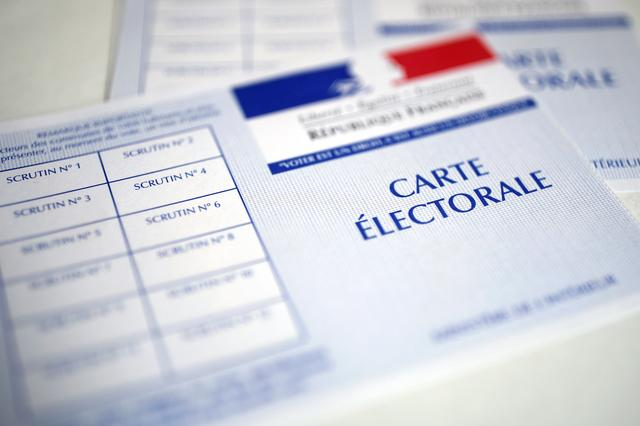 French voter registration cards are seen in this illustration picture April 19, 2017. REUTERS/Benoit Tessier/Illustration