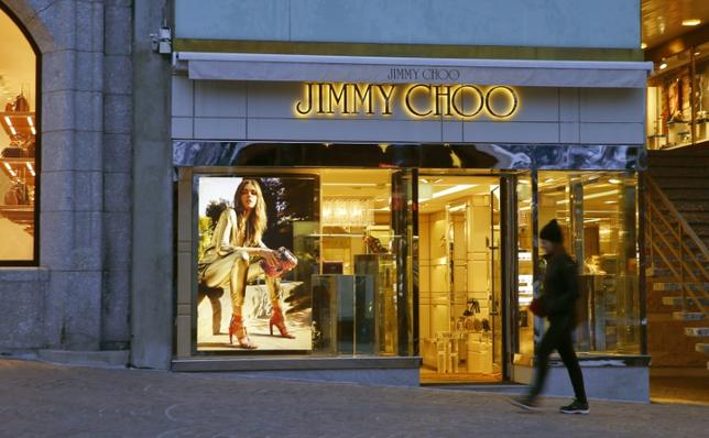A store of shoe designer Jimmy Choo is seen in the mountain resort of St. Moritz, Switzerland March 15, 2016.  REUTERS/Arnd Wiegmann/Files
