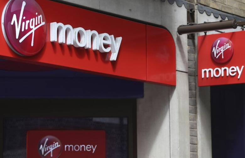 Virgin money say to keep growing credit card business reuters credit card business signs are displayed on a virgin money store in london britain april 30 2016 reheart Choice Image