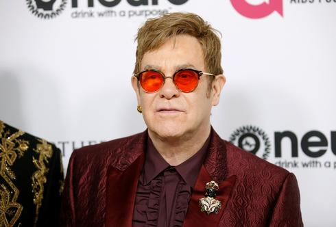 Elton John in the spotlight