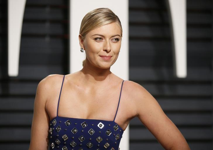 89th Academy Awards - Oscars Vanity Fair Party - Beverly Hills, California, U.S. - 26/02/17 – Tennis player Maria Sharapova. REUTERS/Danny Moloshok/Files
