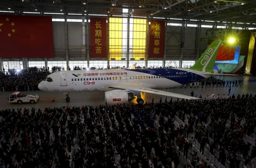 China, Europe pledge closer aviation ties ahead of landmark jet launch