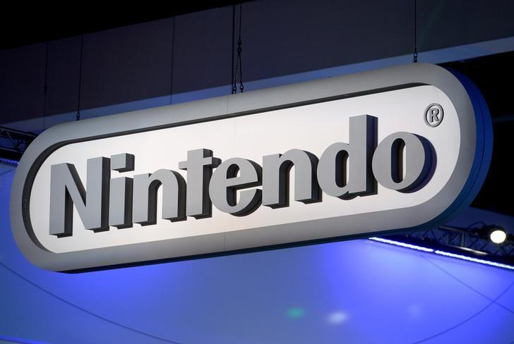 FILE PHOTO: Nintendo signage is displayed at the company's booth at the 2014 Electronic Entertainment Expo, known as E3, in Los Angeles, California June 11, 2014.   REUTERS/Kevork Djansezian/File Photo