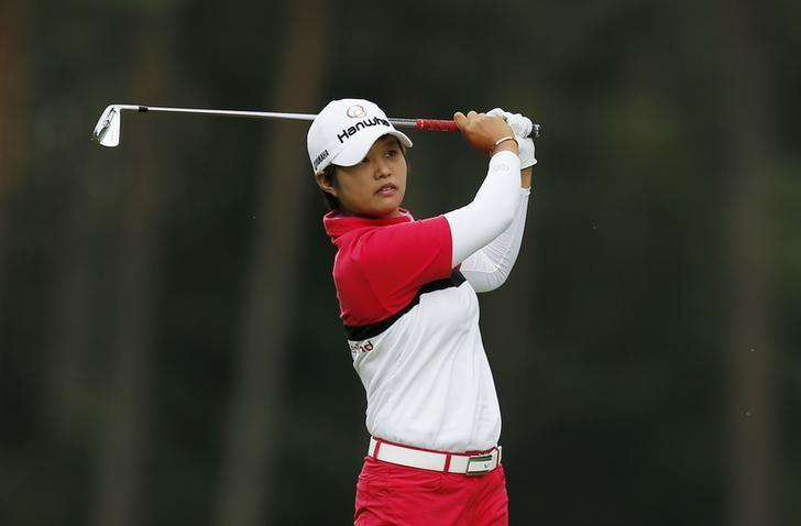 FILE PHOTO - Britain Golf - RICOH Women's British Open 2016 - Woburn Golf & Country Club, England - 30/7/16.  Japan's Haru Nomura during her third round. Action Images via Reuters / Andrew Couldridge