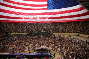 Trump marks 100 days with Harrisburg rally