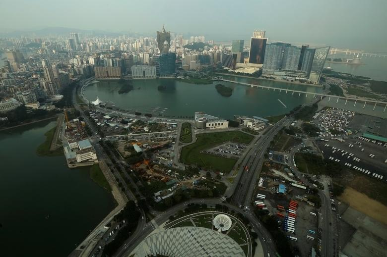 A general view of Macau peninsula, China October 8, 2015. Picture taken October 8, 2015.   REUTERS/Bobby Yip