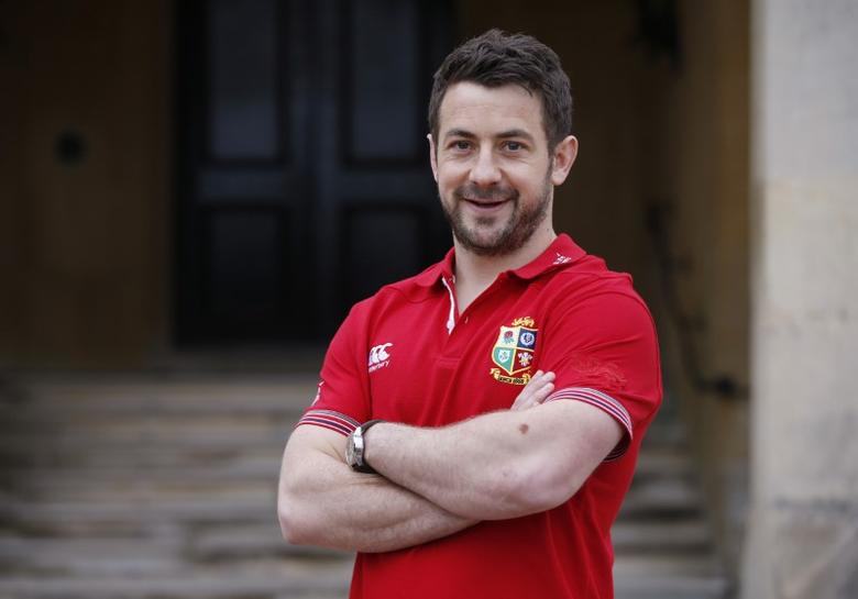 Britain Rugby Union - British & Irish Lions Player Administration Day - Syon House, London Hilton Syon Park - 8/5/17 British & Irish Lions Greig Laidlaw poses Action Images via Reuters / Paul Childs Livepic