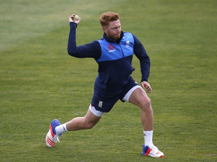 Britain Cricket - England Nets - The Brightside County Ground, Bristol - 4/5/17 England's Jonny Bairstow during nets Action Images via Reuters / Paul Childs/Livepic/Files
