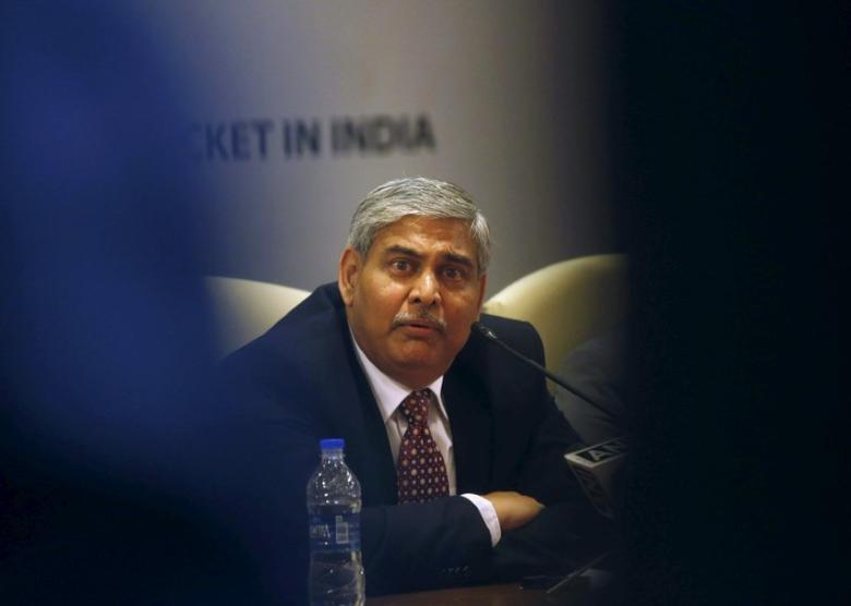 Shashank Manohar, newly-elected president of Board of Control for Cricket in India (BCCI), speaks during a news conference in Mumbai October 4, 2015.  REUTERS/Shailesh Andrade   Picture Supplied by Action Images