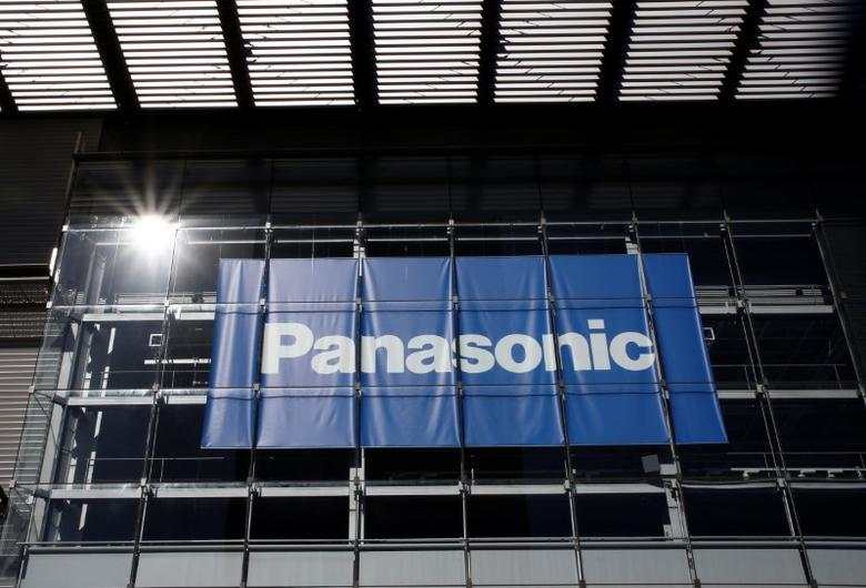 Panasonic Corp's logo is pictured at Panasonic Center in Tokyo, Japan, February 2, 2017.  REUTERS/Kim Kyung-Hoon - RTX2ZA8N