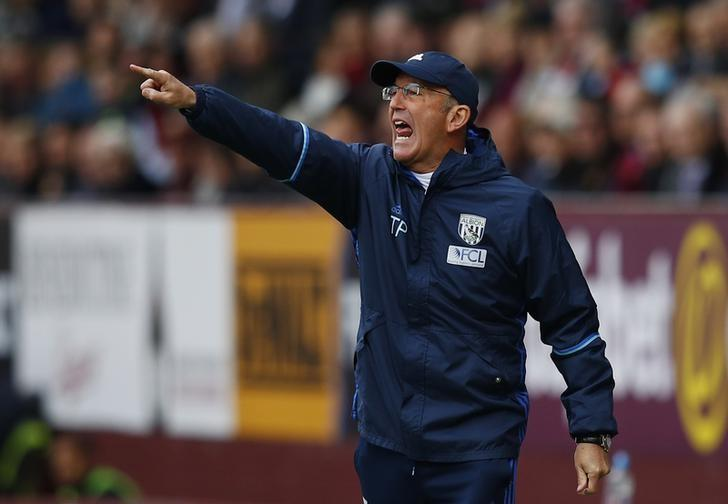 Britain Soccer Football - Burnley v West Bromwich Albion - Premier League - Turf Moor - 6/5/17 West Bromwich Albion manager Tony Pulis  Reuters / Phil Noble Livepic