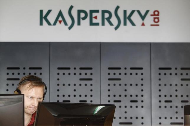 5月11日、米情報当局者はロシアのカスペルスキー・ラブ社製のセキュリティーソフトウエアについて、政府の利用状況を調査していると明らかにした。モスクワで2013年7月撮影(2017年 ロイター/Sergei Karpukhin)