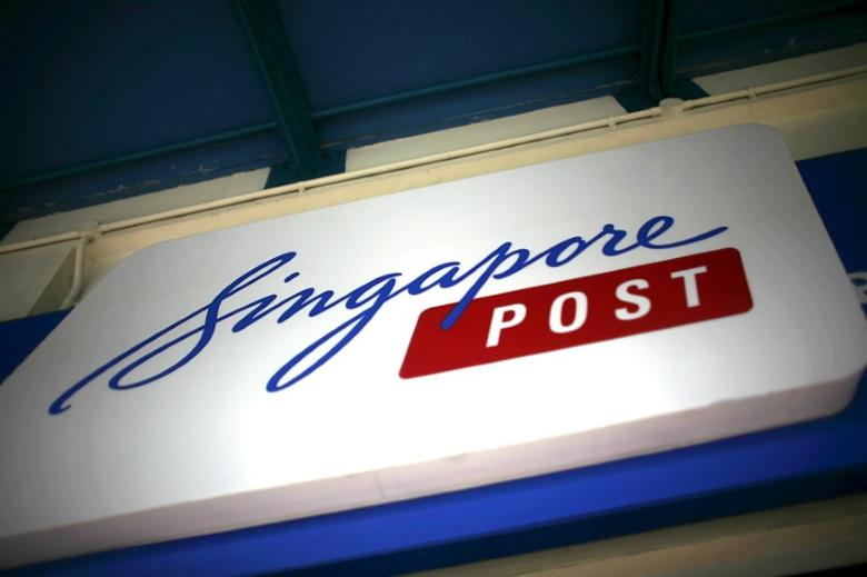 The Singapore Post sign at a post office in Singapore November 2, 2015.  REUTERS/Thomas White