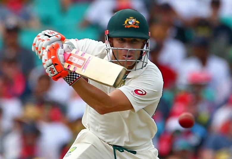 Cricket - Australia v Pakistan - Third Test cricket match - Sydney Cricket Ground, Sydney, Australia - 3/1/17 Australia's David Warner hits a shot.    REUTERS/David Gray