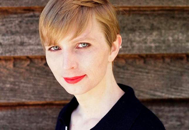 Chelsea Manning, the transgender U.S. Army soldier responsible for a massive leak of classified material, poses in a photo of herself for the first time since she was released from prison and post to social media on May 18, 2017.  Chelsea Manning/CC BY-SA/Handout via REUTERS