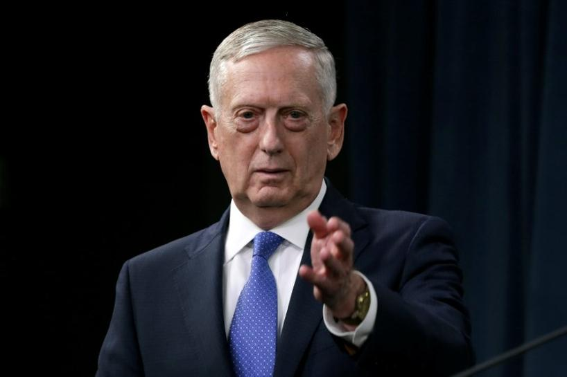 U.S.' Mattis: North Korea military solution would be 'tragic on an unbelievable scale'