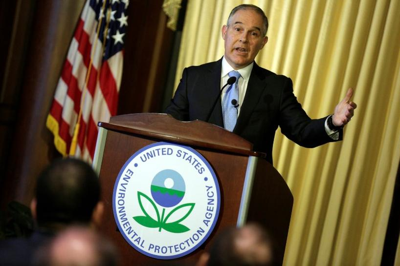 photo image White House moving ahead with stiff EPA budget cuts: group, citing document