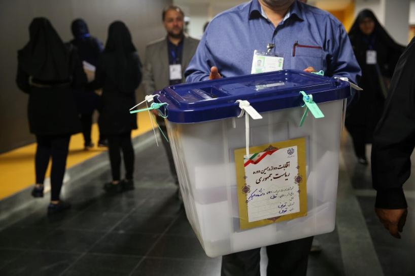 Rouhani leads in Iran presidential vote, Iran source says
