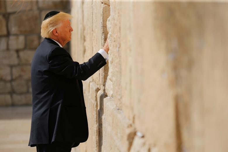 دونالد ترامب اليهودي بالصور
