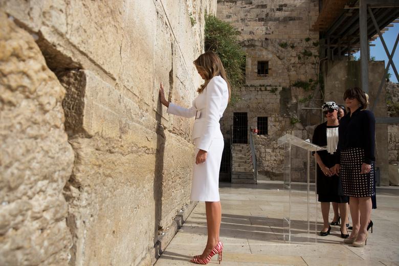 ميلانيا ترامب بالصور اليهودية