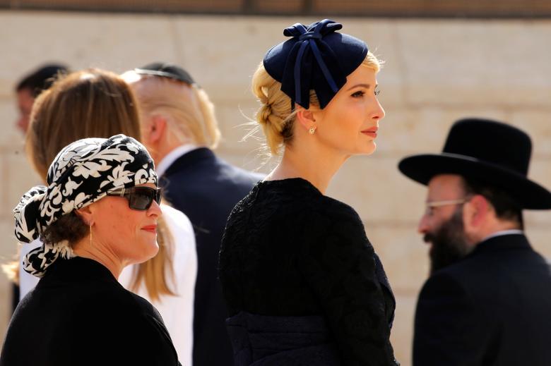 صور افانكا ترامب بإسرائيل