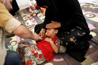 Food poisoning hits hundreds at Iraqi camp