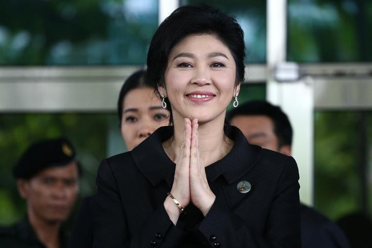 """Image result for Former Thai PM Yingluck seeks """"fan support"""" amid asset freeze"""