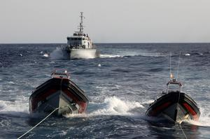 Tensions on the Mediterranean sea