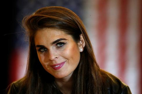 Hope Hicks named White House interim communications director