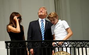White House watches eclipse