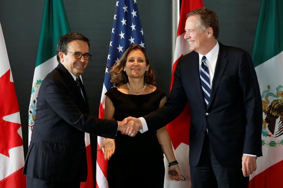Image result for NAFTA Agreement negotiators make progress, to conclude before 2018
