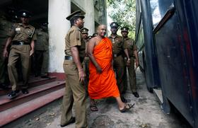 Sri Lanka Arrests Buddhist Monk After Protest Against Rohingya Muslims