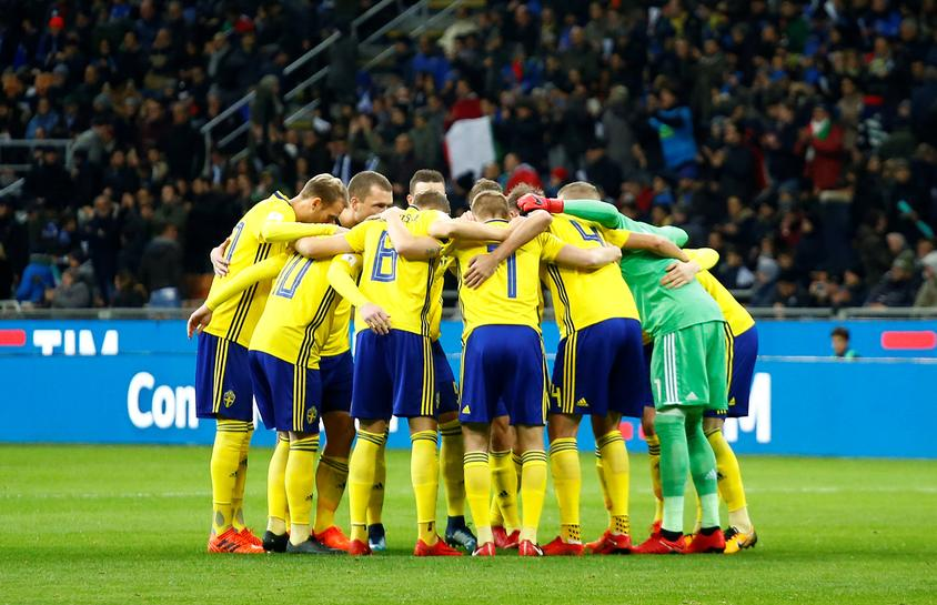 Soccer: Stunned Italy fail to reach World Cup as Sweden qualify