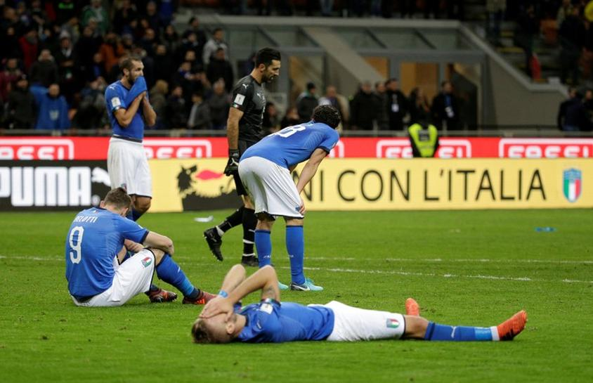 Shock and grief in Italy as World Cup soccer dream implodes